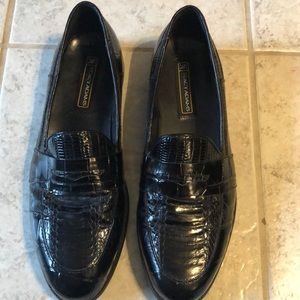 Stay Adams Snake And Leather Loafers Sz 10